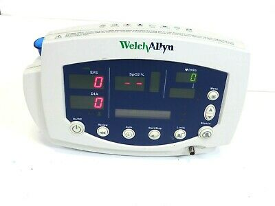 Welch Allyn 53nto Vital Signs Patient Monitor With Battery Free Ship