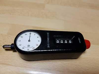 Irion & Vosseler Probator, Drehzahlmesser, mechanical Revolution Meter