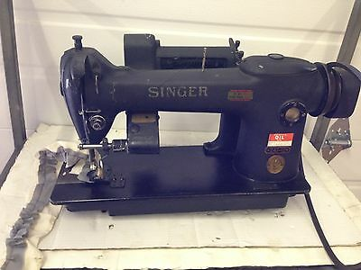 Singer 241-12 Single Needle With Mansew Ruffler Industrial Sewing Machine