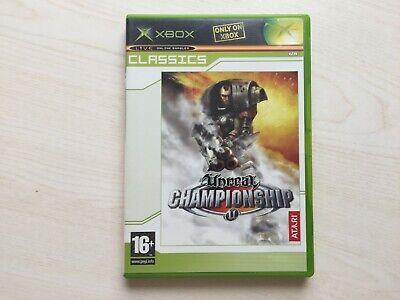 Unreal Championship Microsoft Xbox, 2002 Game UK PAL