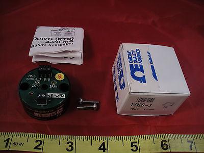 Omega Tx92g-3 Mini Temperature Transmitter Sensor 4-20ma Tx92g3 Rix0806-r Rtd