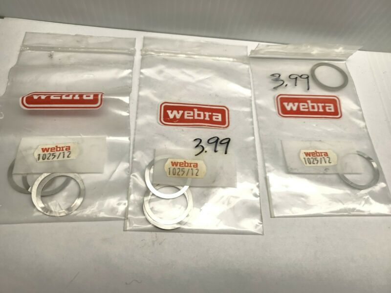 (10) NEW WEBRA 1025-12  distance washer