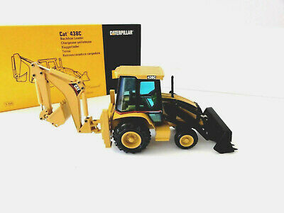 "CATERPILLAR NZG 430 CAT 438C Backhoe Loader - ""OFFICIAL LAUNCH""- 1:50 - ""NEW"""