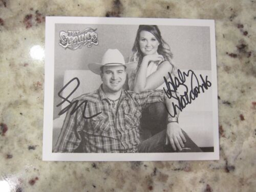The Springs Autographed Signed Postcard CMA Music Festival 2016