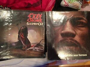 2 great albums (vinyl records) Jimi Hendrix and Ozzy Osbourne