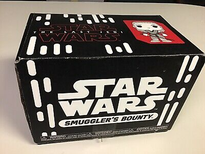 Star Wars SMUGGLER'S BOUNTY BOX of Various Items Figures Watches Helmets