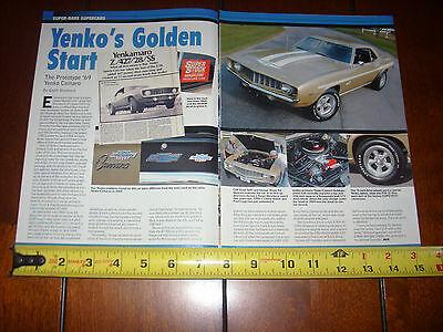1969 YENKO COPO CAMARO 427 - THE PROTOTYPE YENKO - ORIGINAL 2007 ARTICLE