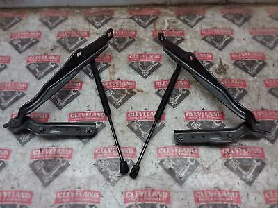 2015-2018 Dodge Charger OEM Hood Hinges w/ Shocks Prop Pair Left Right Gray