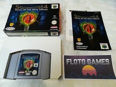 Jeu Shadowgate 64 pour Nintendo 64 N64 PAL Complet CIB - Floto Games