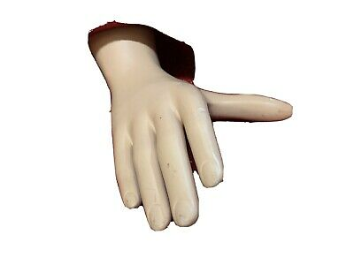 Vintage Mid Century Modern Department Store Mannequin Juvenile Hand Tors Female