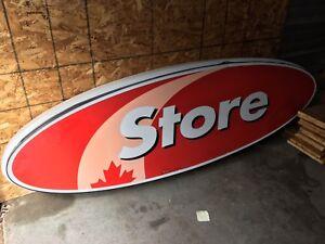 PetroCanada Gas Store Sign