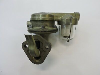 NOS CARTER M0-707 FUEL PUMP & FILTER CHEVROLET 1937-51 ALL 6 CYL. & 1939 TRUCK