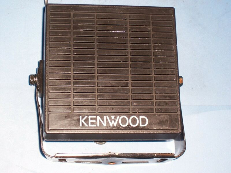 Kenwood KES-4 External 20 Watt 4 Ohms Mobile Audio Speaker w/ Mounting Bracket