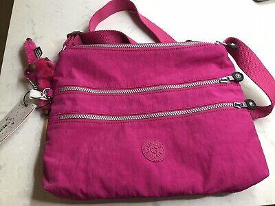 NWT Authentic Kipling Alvar Very Berry Crossbody Bag HB4061