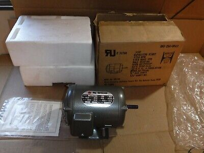 New Old Stock Toyang Tme-202 14 Hp Electric Motor 1720 Rpm 115v 60hz