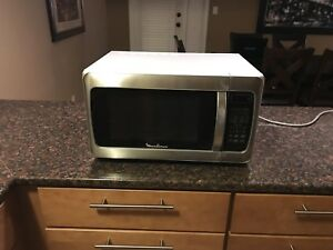 Excellent  stainless Moulinex used Microwave