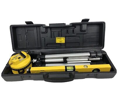 Cen-tech 16 Laser Level W 360 Rotating Head Tripod And Case Model 90980
