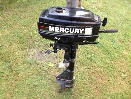Mercury 3HP Outboard Motor $180 o.n.o