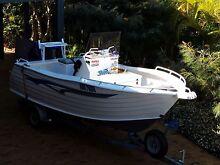 5m Trailcraft Centre Console plate aluminium boat Coffs Harbour Coffs Harbour City Preview