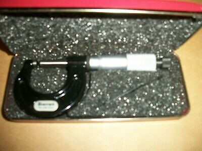 Starrett Micrometer No.436- 25mm 1 W Hard Case