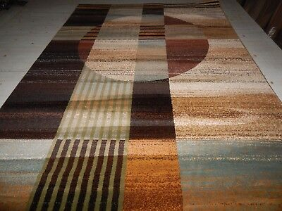 Modern Rug Contemporary Area Rugs Abstract Carpet VERU COLLECTION 5'.3