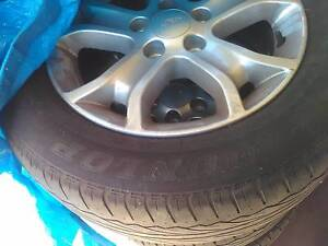 4 Ford Rims with near new  tyres Cheltenham Charles Sturt Area Preview
