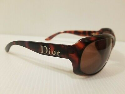 Christian Dior X5Q8U Brown Lenses Sunglasses + Case