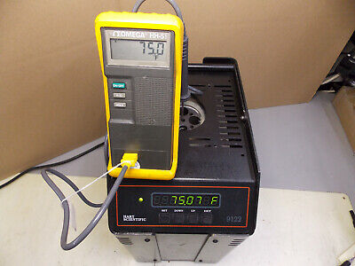 Fluke Hart Scientific 9122 Dry Well Temperature Calibrator Standard Tested