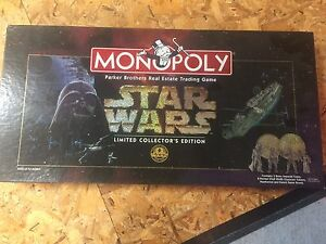 Star Wars monopoly (limited collectors edition)