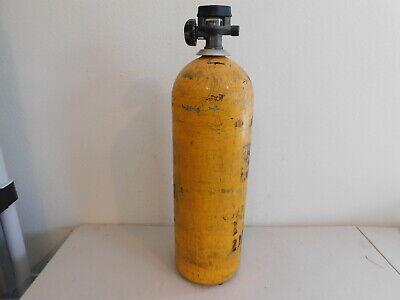 Scott Air Tank Cylinder 2216 Psi Scba Oxygen W Scott Valve Needs Hydro Test