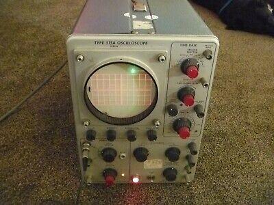 Tektronix Type 515a Analog Oscilloscope. Working Condition