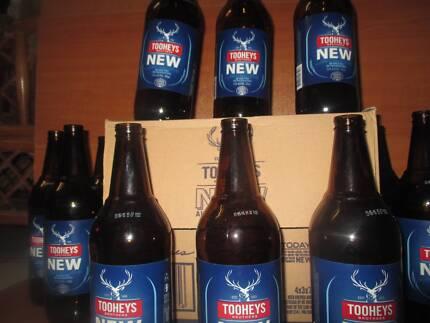Glass bottles for brewing 750ml tallies *$5 per box*