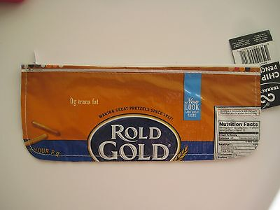 Terracycle Rold Gold Chip Multi Color Package Recycled Purse Environmental Green