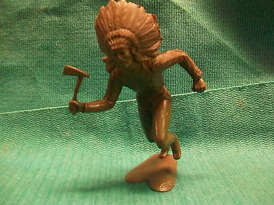PLASIMARX MEXICO TOY BROWN  INDIANS CHIEF