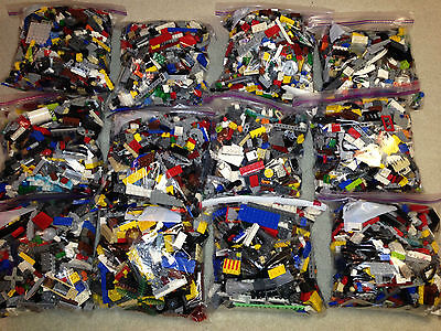 Kyпить LEGO 1-99 Pounds LBS Parts & Pieces HUGE BULK LOT bricks blocks w/ 1 MINIFIG на еВаy.соm