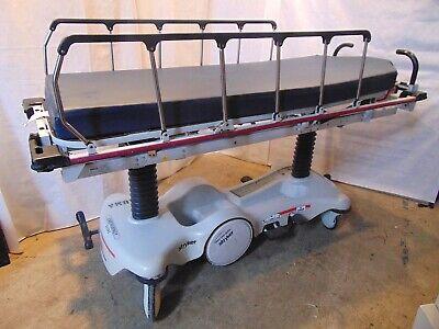 Stryker 1020 Big Wheel Trauma Stretcher With Mattress S5055