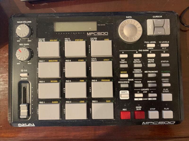 Akai MPC500 Memory Music Production Sampler & Sequencer