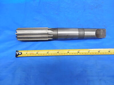 1.3365 Diameter 10 Flute Reamer With Morse Taper 4 Shank Mt4 Mt-4 Cnc Tooling
