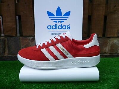 VINTAGE ADIDAS MUNCHEN 80'S RUN UK9 2011 THE FIRM OG COLOURWAY RARE LOOK