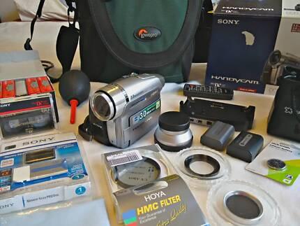 Sony Handycam DCR-HC96E mint condition