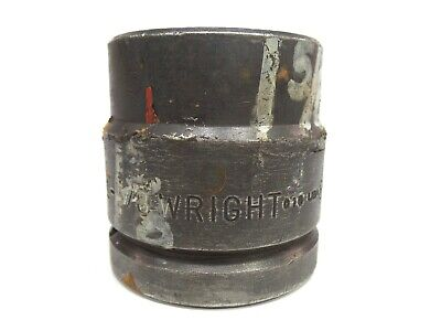 Wright Impact Socket 1-58 6 Point 1-12 Inch Drive 84826 Free Shipping