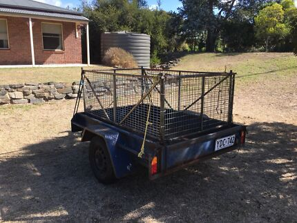 6 x 4 Trailer With Cage