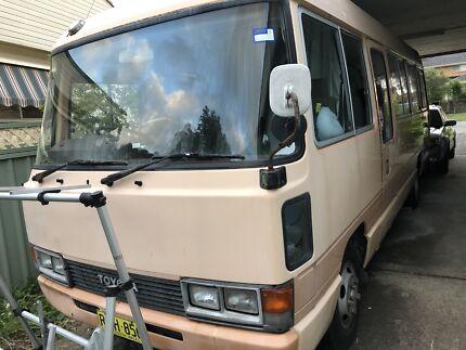 Toyota Coaster Deluxe Diesel LWB
