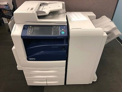 Xerox Workcentre 7970 Multifunction With Office Finisher Rebuilt100 Consumable