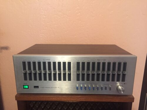 Sansui SE-7 Stereo Graphic Equalizer - Tested, Very Good
