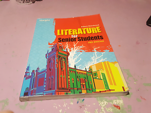 Insight literature for senior students 3rd edition Meadow Heights Hume Area Preview