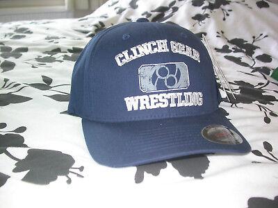 CLINCH GEAR WRESTLING BASEBALL CAP HAT FLEXIFIT . MMA UFC WWE KSW GYM BOXING NEW