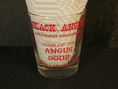 Mr. Angus / Black Angus Restaurants and Lounges Texas Bull Shot Rocks Glass
