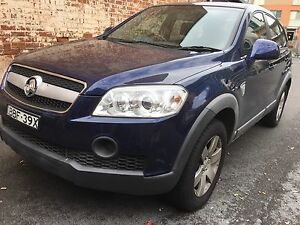 Holden captiva CG CX 7 seaters great condition 1 year rego low kms Lidcombe Auburn Area Preview