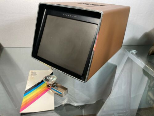 Polaroid Polavision Land Player  *Extra Lamp Bulb and Manual*